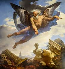 Мифы Древней Греции Греческая мифология Хронос Крон Сатурн Жан Батист Мозес