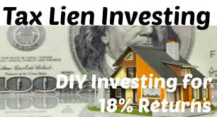 tax lien investing tax lien investing simple diy investing for 18 returns