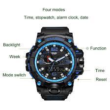 KXAITO <b>Mens Sports Outdoor</b> Waterproof Military Watch Date <b>Multi</b> ...