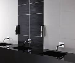bathroom tiles black and white. Brilliant Black Incredible Bathroom Tile Design Ideas Black U0026 White And  Inspirational Decoration 19 And Tiles