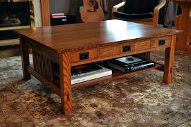 apothecary coffee table plans mission style coffee table by residential architects