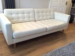 leather sofa bed ikea furniture white leather sofa bed impressive on furniture in 3 seat sofas