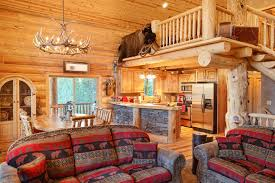 Rustic, Traditional Cabin Interiors