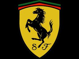 black ferrari logo wallpaper. ferrari logo 597 black wallpaper
