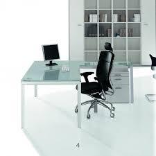 glass desk for office. x4 glass desks desk for office