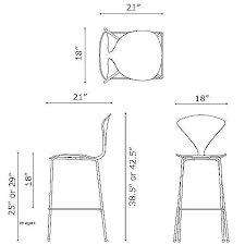 Standard Stool Height Bar For Inch Stools Beautiful    Sizes21
