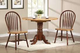 round dining room table with leaf. Sunset Trading 3pc 42\u2033 Round Drop Leaf Dining Set With Arrowback Chairs Room Table I
