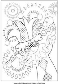 Mardis Gras Coloring These Are Perfect For The Kids To Get Involved