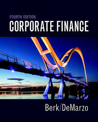 corporate finance subscription 4th edition