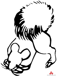 Small Picture Outline Squirrel Clipart Design Free Clipart Design Download