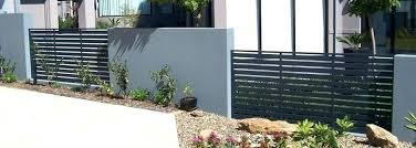 mid century modern metal fence modern front yard fence decorative fences for front yards modern style