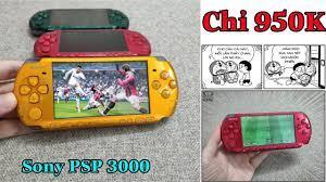Máy Chơi Game Cầm Tay Sony PSP 3000 l Yêu Công Nghệ - YouTube