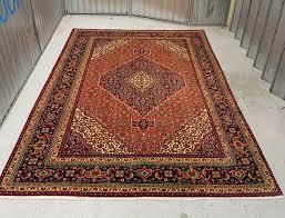 fabulous pure wool hand woven persian tabriz rug 295 200 cm