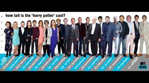 Harry Potter Height Chart Whos The Tallest Actor Youtube