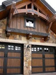 rustic garage doorsMontana Rustic Garage Doors  For the Home  Garage Doors