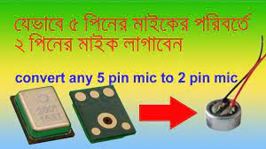 Any five pin mic solution. Symphony H400 5 pin mic repair with 2 wire mic -  YouTube