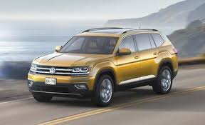 2018 volkswagen atlas suv. perfect 2018 2018 volkswagen atlas vwu0027s threerow suv for america finally arrives to volkswagen atlas suv 1