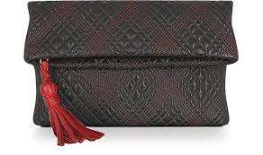 Fontanelli Black Quilted Leather Clutch at FORZIERI & Black Quilted Leather Clutch - Fontanelli Adamdwight.com