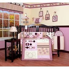 pink artist 13 piece crib bedding set
