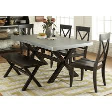 Image Coffee Table Shop The Gray Barn Outerlands Charcoal And Zinc Top Trestle Dinette Table Free Shipping Today Overstockcom 20882541 Overstock Shop The Gray Barn Outerlands Charcoal And Zinc Top Trestle Dinette