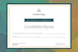 New On Letsintern Internship Certificates From Your Dashboard