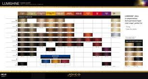 Joico Lumishine Shade Chart Dec 15 Hair Color Shades