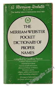 merriam webster dictionary abebooks