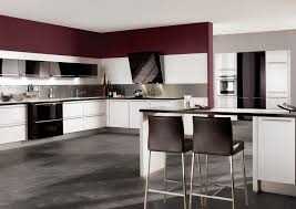 Red Gloss Kitchen Cabinets Grey Gloss Kitchen Cabinet Doors Monsterlune