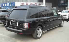 File:Land Rover Range Rover L322 Limousine facelift 03 China 2014 ...