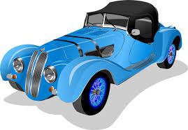 Classics Clipart Old Fashioned Car Pencil And In Color Classics