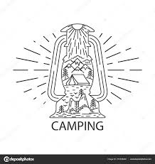 Rustic Camping Lantern Stock Vector Ivofet 277829248