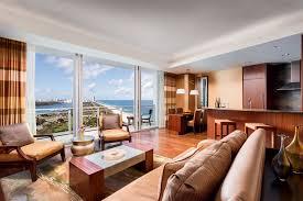 Miami 2 Bedroom Suites Oceanfront 1 Bedroom Suite In Miami The Ritz Carlton Bal Harbour