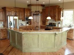 Attractive Kitchens With Island Barsl | Open Kitchen With Island Bar Nice Design