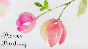 lvl2 watercolor tutorial how to paint flowers you
