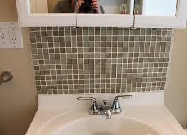 Home Project Bathroom Tile Backsplash Domestocrat Simple Tile Backsplash In Bathroom