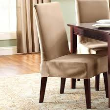 7 dining room chair slipcovers short dining room chair covers short sure fit cotton duck short