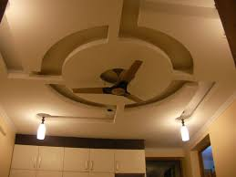 false ceiling designs for living room with 2 fans