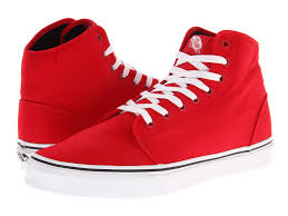 vans shoes red and white. vans authentic and 106 hi shoes red white e
