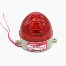 btoomet n 3072 industrial ac 110v red led warning light bulb signal tower lamp w steady flash