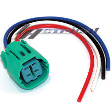 4 way repair plug harness connector pigtail for nippon denso new repair plug harness 4 wire pigtail connector for toyota sequoia 2003 07 4 7