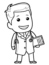 Nurse Coloring Sheet With Line Art 2 18 And Pages Print Nurse