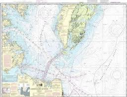 Training Chart Chesapeake Bay Entrance Tri Fold