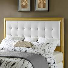 white upholstered headboard queen. Interesting White Leather Upholstered Headboard Queen White Size Bed Double  For T