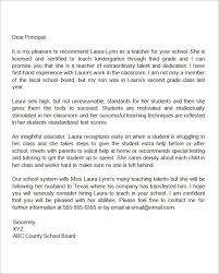 Letter Of Recommendation Teacher Recommendation Letter For A Teacher Who Is Relocating