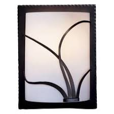 organic lighting fixtures. Right-Side Wall Light Sconce Organic Lighting Fixtures