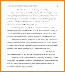 Examples Of An Outline For A Research Paper Apa Style Apa Research Paper Outline Template Lovely Essay Outline Template
