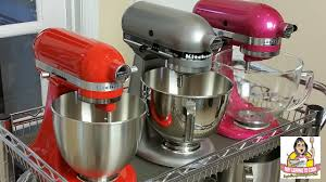 kitchenaid mixer colors 2016. kitchenaid tilt head stand mixer comparison ~ artisan vs. classic plus mini - youtube kitchenaid colors 2016