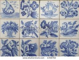 Blue And White Decorative Tiles Famous Portuguese Blue White Decorative Tiles Stock Photo 60 19