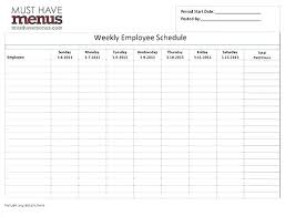 Leave Calendar Template 2015 Employee Shift Schedule Excel Weekly