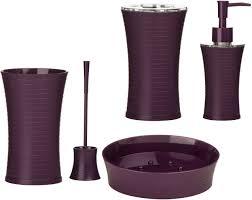 Purple Bathroom Set Bathroom Decor